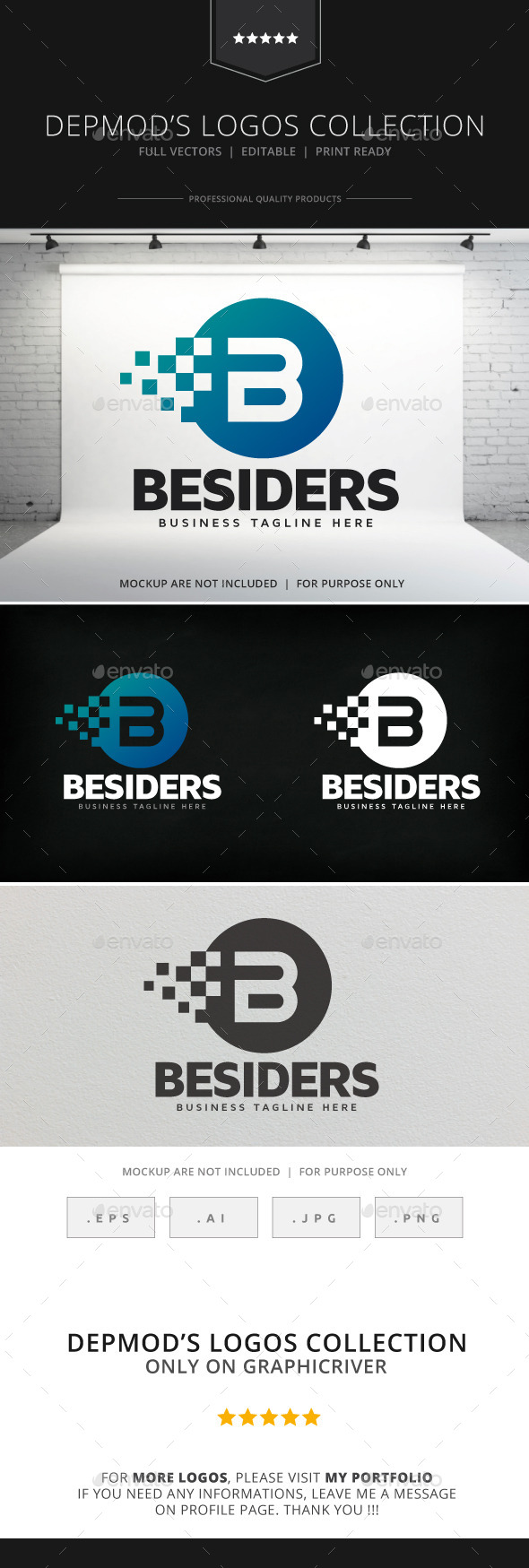 GraphicRiver Besiders V.02 Logo 9129424