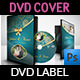 Wedding DVD Cover and DVD Label Template Vol.2 - GraphicRiver Item for Sale