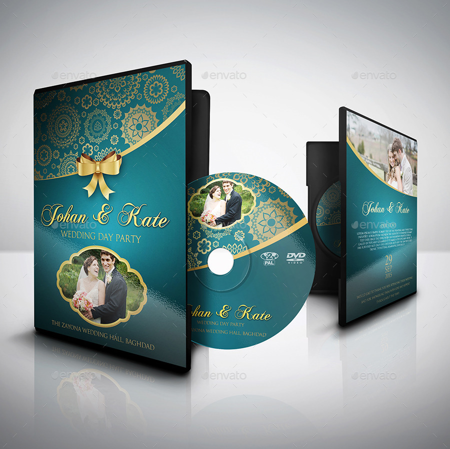 wedding dvd cover and dvd label template vol 2 by owpictures graphicriver. Black Bedroom Furniture Sets. Home Design Ideas