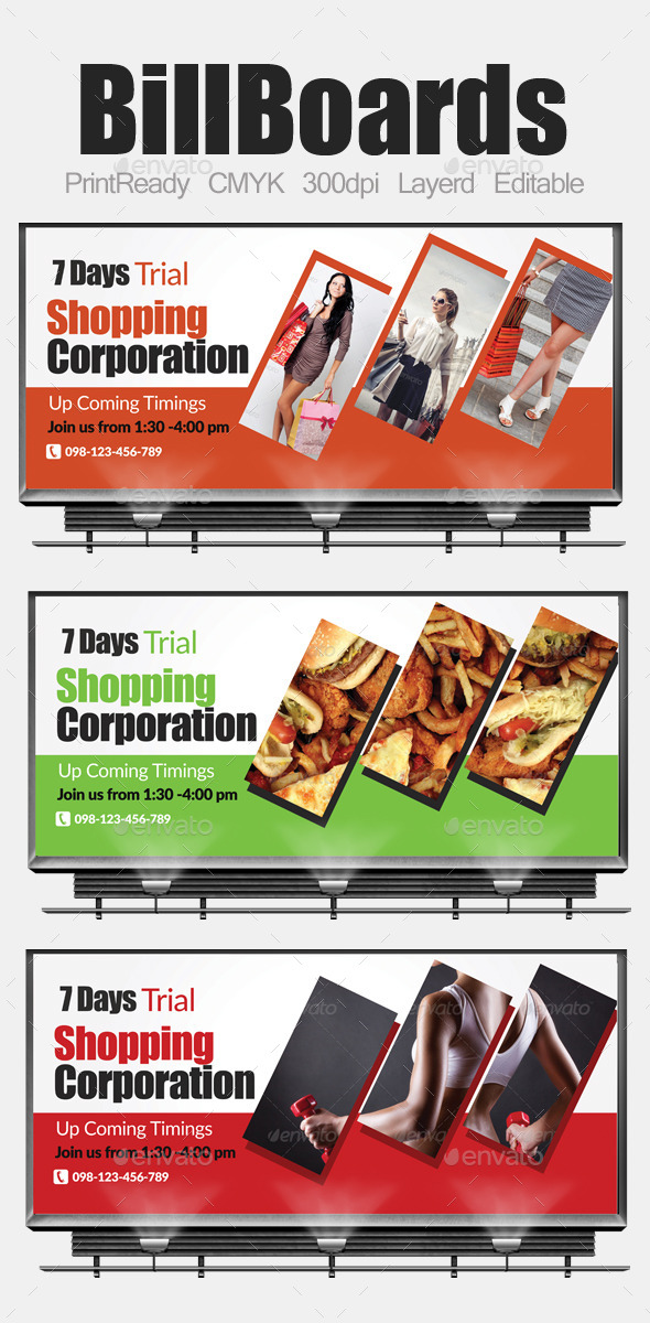 GraphicRiver Multi Purpose Business Billboards 9130216