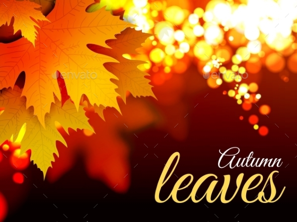 GraphicRiver Autumn Leaves 9132288