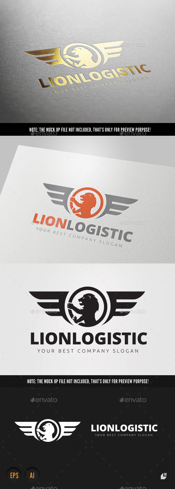 GraphicRiver Lion Logistic 9132309