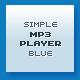 Metalic & Blue XML MP3 Player - ActiveDen Item for Sale