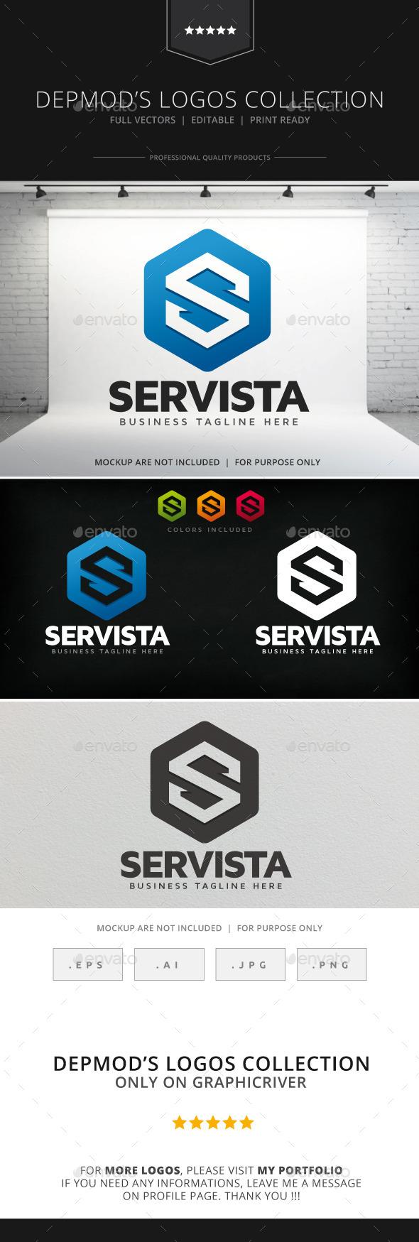 GraphicRiver Servista Logo 9132427