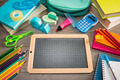Back to school with chalkboard - PhotoDune Item for Sale