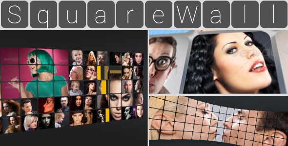 Square Wall Slideshow