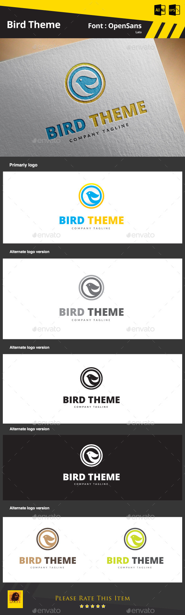 GraphicRiver Bird Theme 9132832