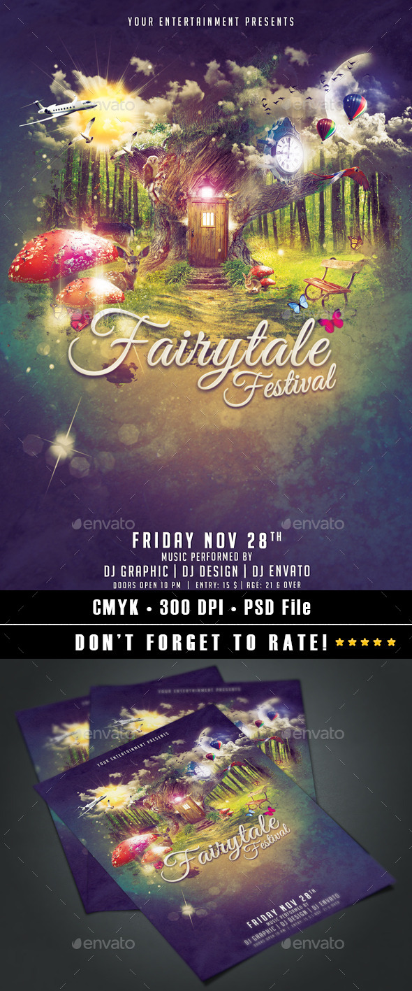 GraphicRiver Fairytale Festival 9132882