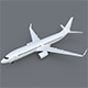 Boeing 737-800 - 3DOcean Item for Sale