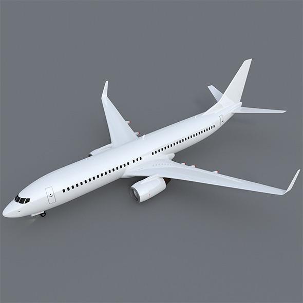 3DOcean Boeing 737-800 9133011