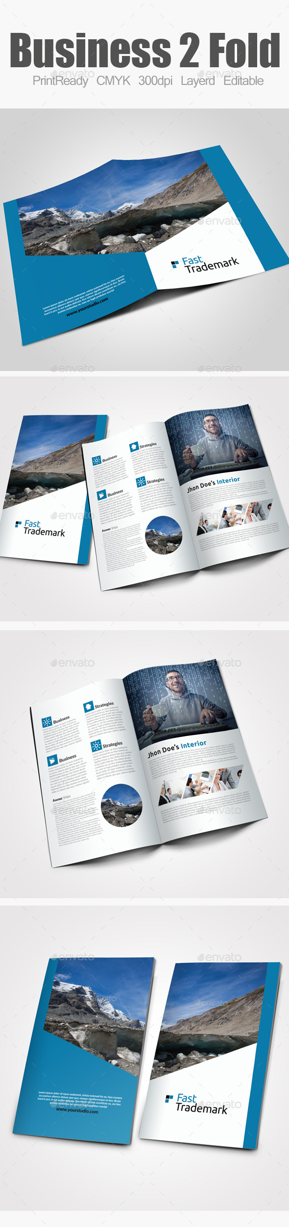 GraphicRiver Bi Fold Business Brochure 9133319