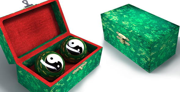 3DOcean Realistic Chinese Baoding Balls 9133780
