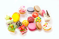 dessert, candy and cookies on a white background - PhotoDune Item for Sale