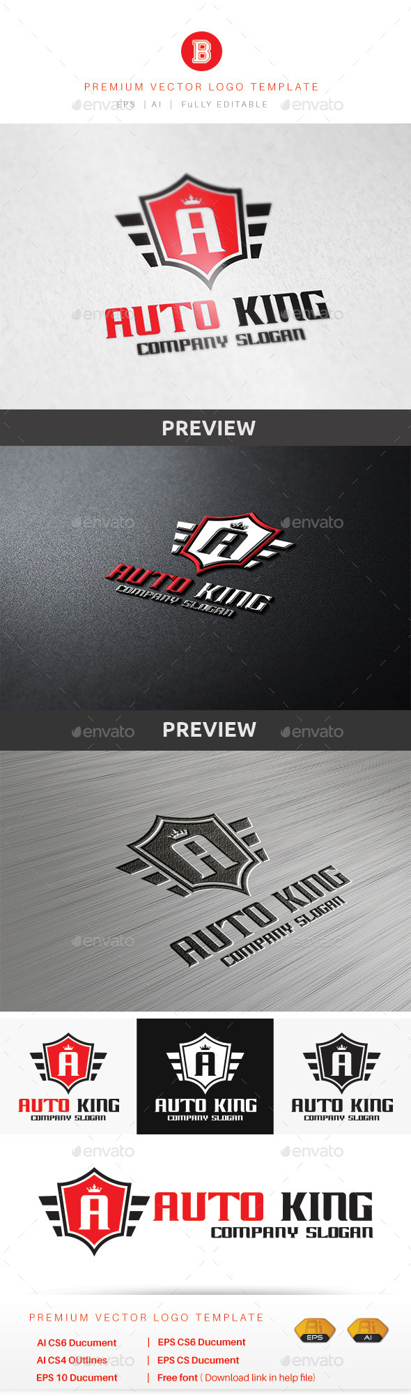 GraphicRiver Auto King 9133991