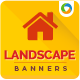 Landscaping Company Banner Design set - GraphicRiver Item for Sale