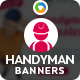 Handyman Service Banners - GraphicRiver Item for Sale