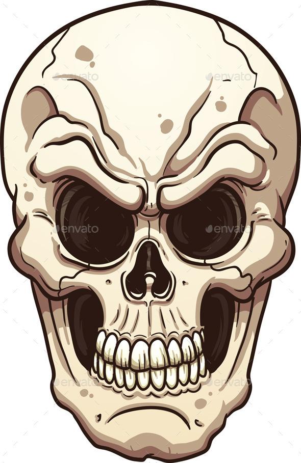 GraphicRiver Evil Skull 9134145