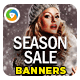 Seasonal Offer Banner Design Set - GraphicRiver Item for Sale
