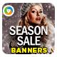 Seasonal Offer Banner Design Set