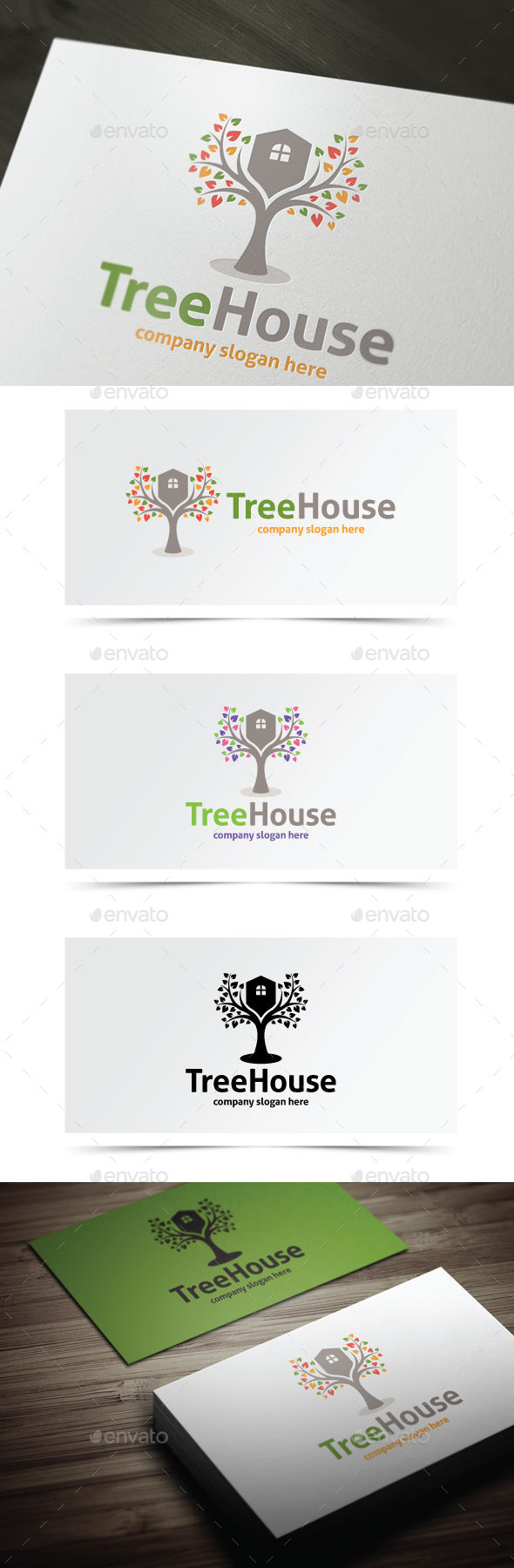 GraphicRiver Tree House 9134506