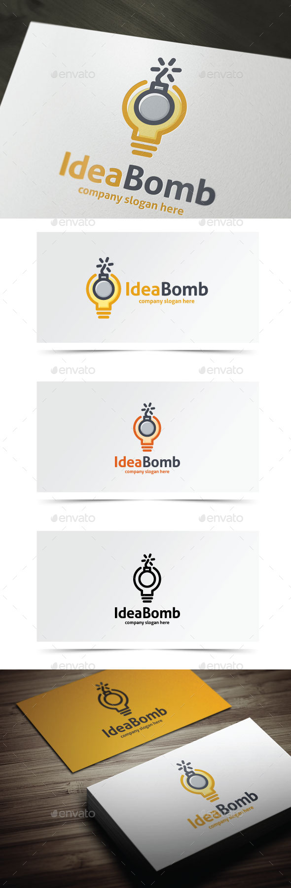 GraphicRiver Idea Bomb 9134523