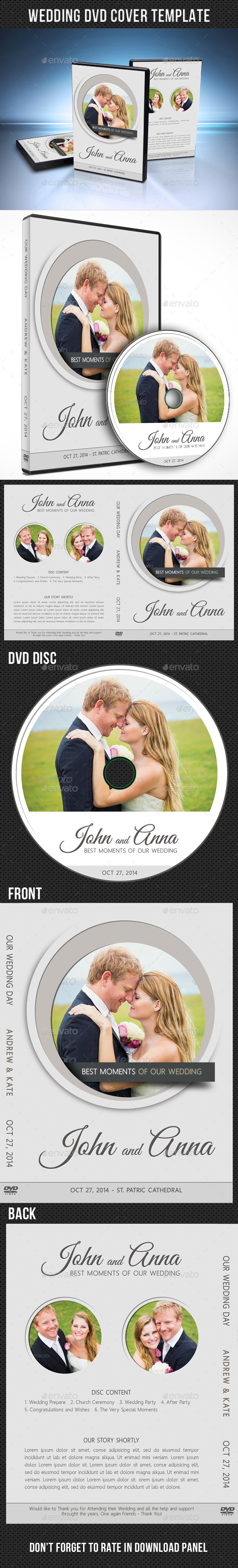 GraphicRiver Wedding DVD Cover Template 11 9135030
