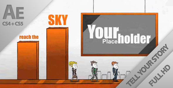 After Effects Project - VideoHive Cartoon Typography Display Opener 933907
