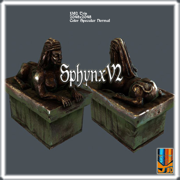 SphynxV2 - 3DOcean Item for Sale
