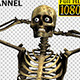 Skeleton Funny Street Dancing 2 - VideoHive Item for Sale
