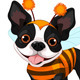 Halloween Boston Terrier - GraphicRiver Item for Sale