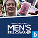 Men's Fellowship Church Flyer Vol.2 - GraphicRiver Item for Sale