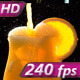 Stream of Orange Juice in a Glass - VideoHive Item for Sale