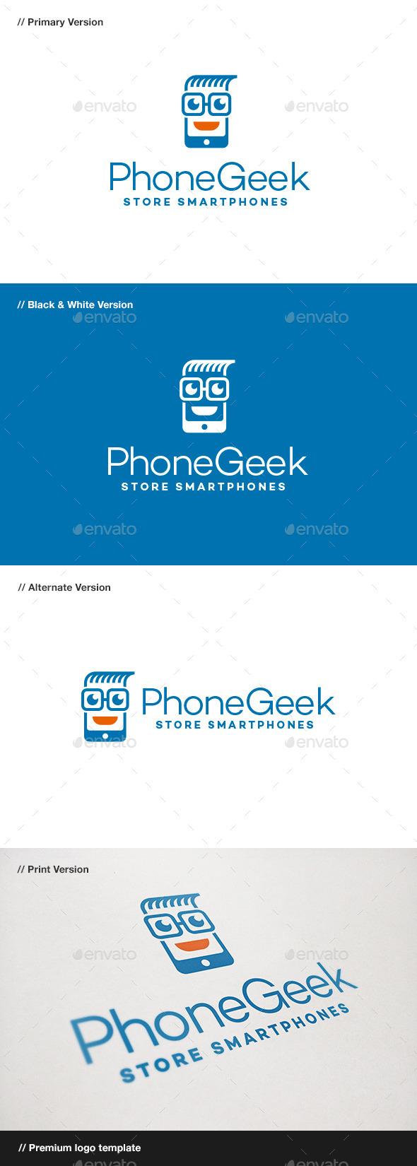 Phone Geek Logo