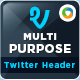 Corporate Twitter Header - GraphicRiver Item for Sale