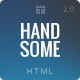 Handsome | Responsive Influential HTML Template - ThemeForest Item for Sale