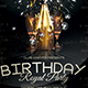 Birthday Royal Party Flyer Template - GraphicRiver Item for Sale