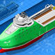 Isometric Ship Breaking the Ice in Front View - GraphicRiver Item for Sale
