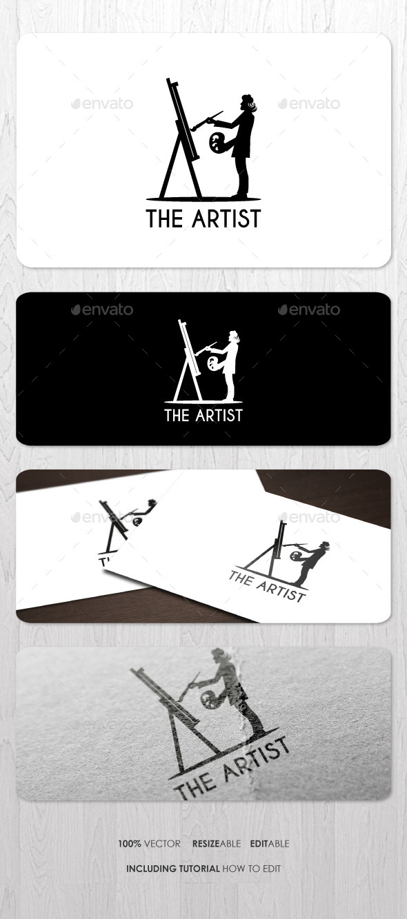 GraphicRiver The Artist Logo 9137916