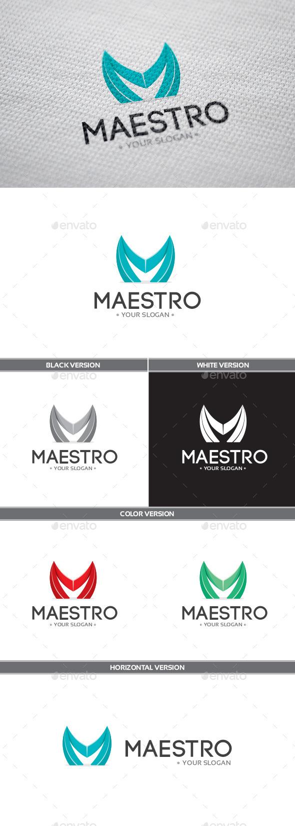 GraphicRiver Maestro Logo 9137932