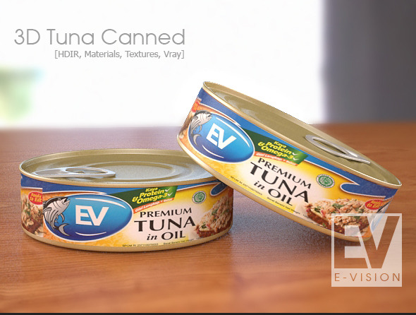 3DOcean Tuna Canned 9137942