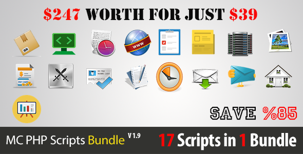 MC PHP Scripts Bundle 17 in 1
