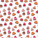 Seamless Pattern with Birthday Cakes - GraphicRiver Item for Sale