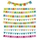 Bunting Party Color Flags - GraphicRiver Item for Sale