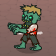 Man Kills Walking Dead Zombie Animation - ActiveDen Item for Sale