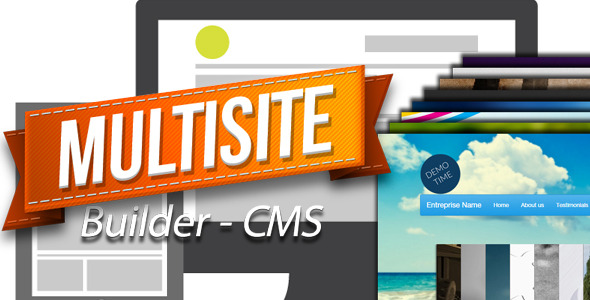 CodeCanyon MultiSite Builder CMS 9139172
