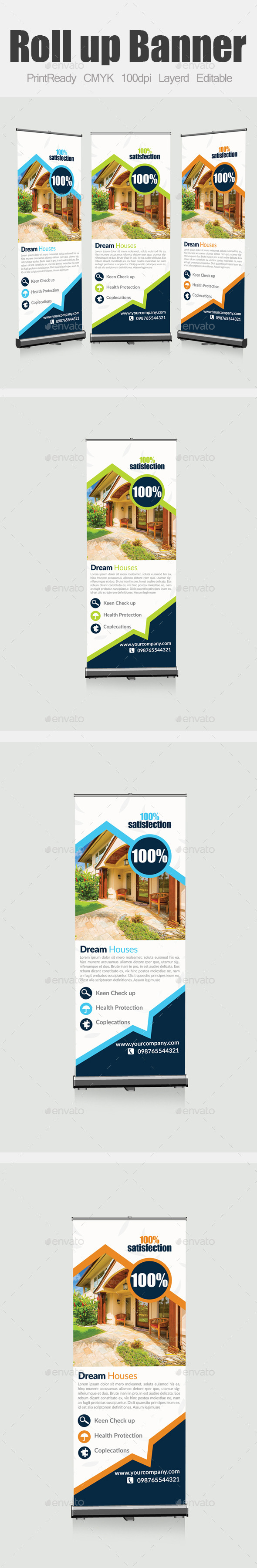 GraphicRiver Real Estate Roll Up Banners 9139182