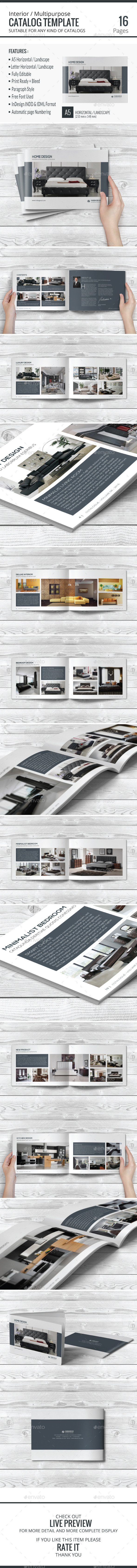 GraphicRiver Multipurpose Catalog Template 9139522