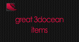 Great 3docean Items