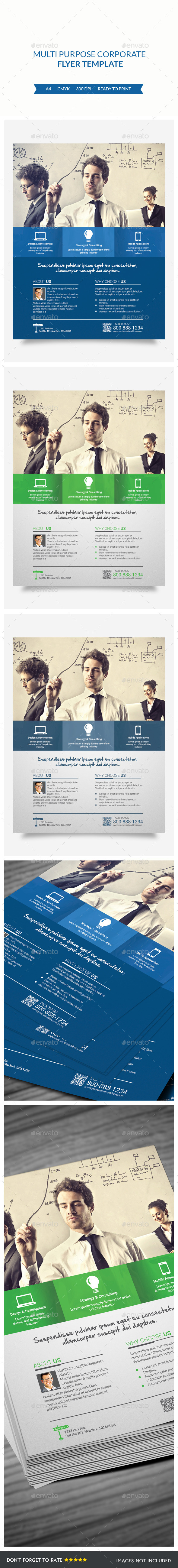 GraphicRiver Corporate Flyer 9140276