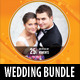 6 in 1 Wedding Event CD Cover Template Bundle - GraphicRiver Item for Sale